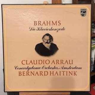 Brahms Piano Concertos Arrau Haitink Philips 6700018 2-LP set
