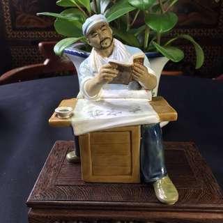Shiwan Pottery figurine