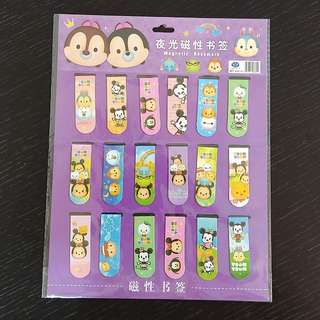 Tsum Tsum Two Sided Magnetic Bookmark