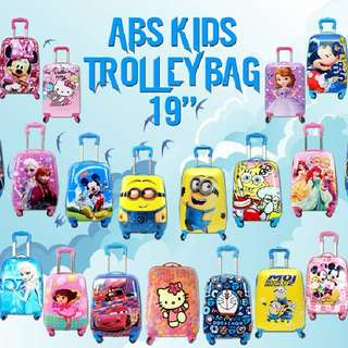 Abc kids  trolley bag  Rm82 sem