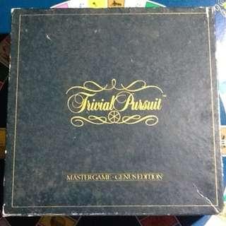 Trivial Pursuit Master Game Genius Edition