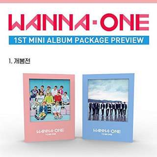 📍Pre-order ~WANNA ONE – 1×1=1 (TO BE ONE) Re-Issue & Limited stocks!!!