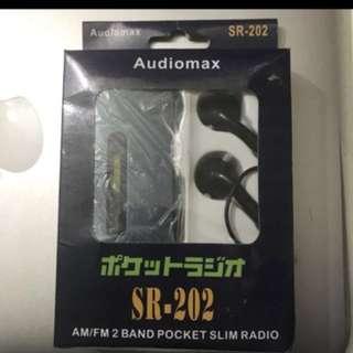 Audio max sr-202 收音機