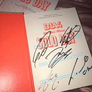B1A4 solo day 親筆簽名