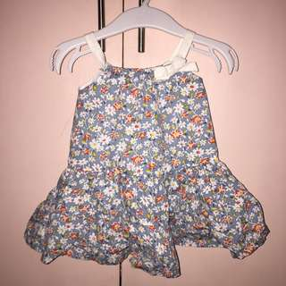 Floral Cute Dress for 6 months old