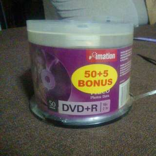 Imation dvd+r 55 pieces