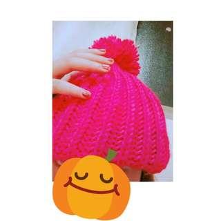 冬天94要一頂粉紅帽