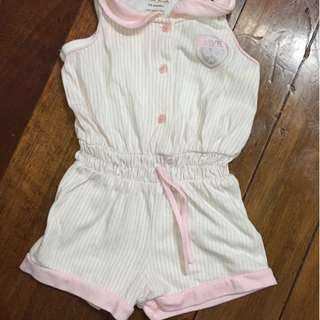 Sporty Pink Romper for 3-6 months old