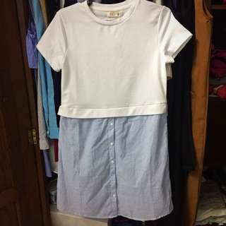 Oversize Casual Dress XS
