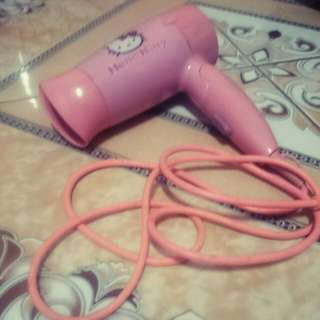 Hairdryer Hot & Cool Hellokitty Pink