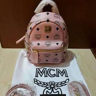 MCM Bebeboo Mini in Soft Pink