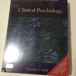 Clinical Psychology 7th ed by Trull
