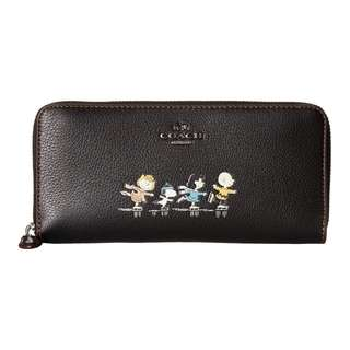 COACH  Snoopy wallet 銀包