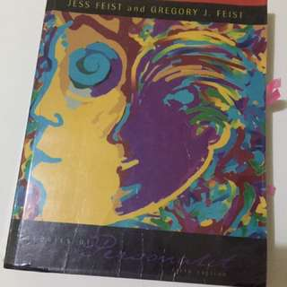 Theories of Personality by Feist and Feist