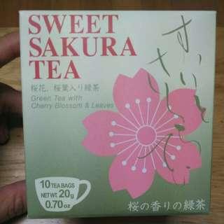 日本櫻花茶綠茶包 Sakura tea green tea