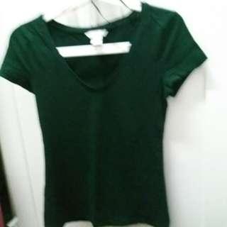 V shape shirt