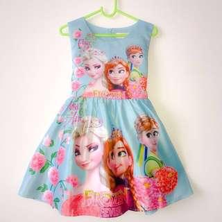 #Huat50Sale CNY dress for girls, Frozen dress