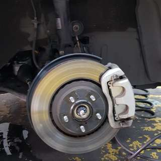 Lexus NX200T F-Sport brake kit