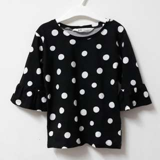 H&M Polka Dots Top