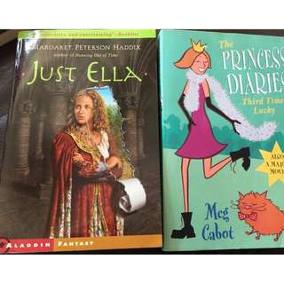 book - ella princess diary meg cabot  $10 each