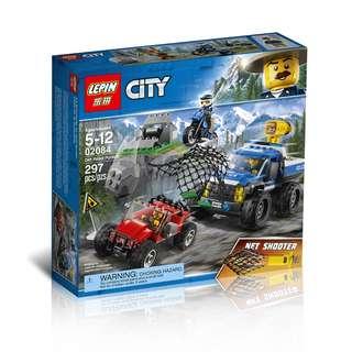 LEPIN 02084 City Dirt Road Pursuit