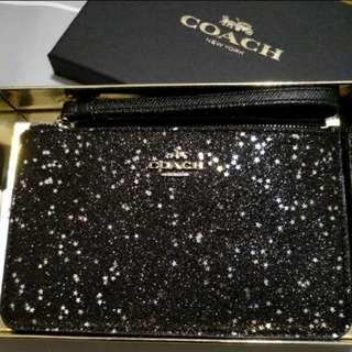Coach card holder / small pouch in gift box