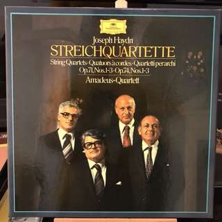 Haydn String Quartets Op.71 & 74 Amadeus Q DG 2709090 3-LP box set
