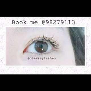 Eyelash Extensions service