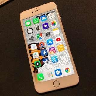 iphone6s plus 128 玫瑰金