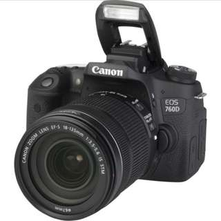 Canon EOS 760d Kit 18-135mm