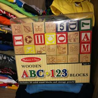 Melissa and doug alphabets
