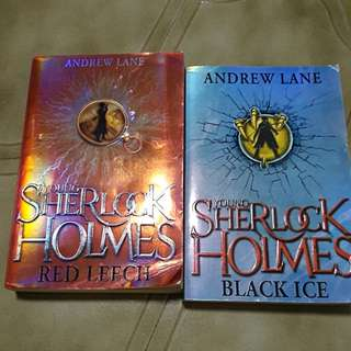 Storybooks - Young Sherlock Holmes (Red Leech & Black Ice) by Andrew Lane