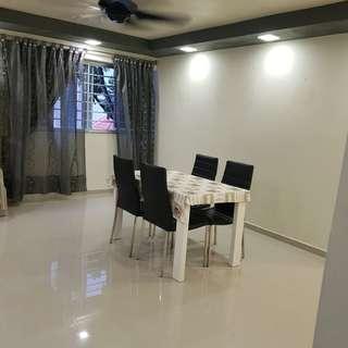 4room flat whole unit for Rental near MRT