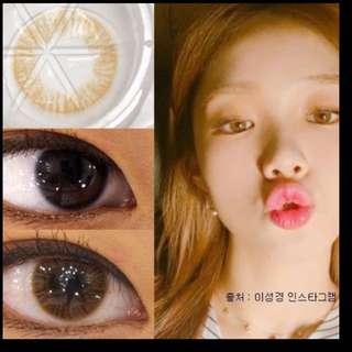 Instock • Korean brown solotica lens