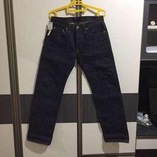 Samurai Jeans S711VX 17OZ TIGHT STRAIGHT
