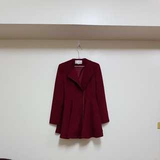 🚚 Beloued設計師訂製款大衣洋裝