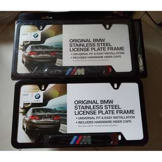 BRAND NEW AUTHENTIC BMW M sports Number plate from USA