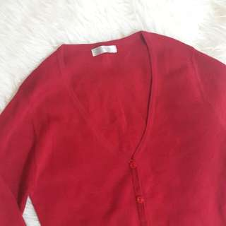 Red Cardigan #CNY2018