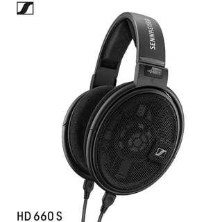 全新 德國 Sennheiser HD660S 旗艦 2018發行 耳機 支援 4.4mm 平衡 3.5mm 6.3mm 插頭