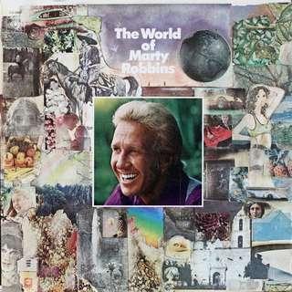 Marty Robbins Vinyl LP, used, 12-inch original pressing (DOUBLE album)