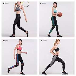 Female leggings compression bottoms 2 for $50