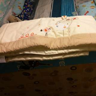 Almost new baby cot bed guard