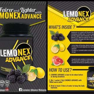 Lemonex Advance (Free Shaker)