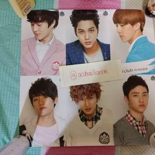 EXO-K IVY CLUB POSTER