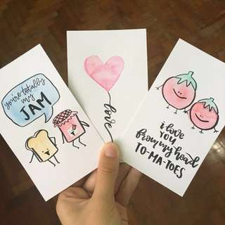 handmade valentine's day cards #Huat50Sale