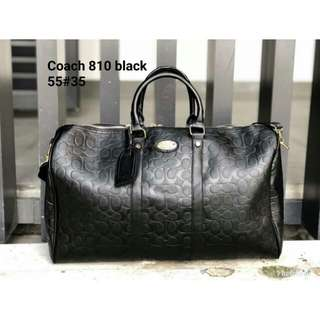COACH TRAVEL BAG (BLACK)