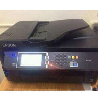 EPSON WORKFORCE WF-7611 A3 WIFI DUPLEX ALL IN ONE INKJET PRINTER