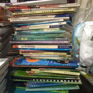 Chinese guide/composition/oral books for Primary level & PSLE