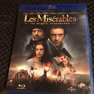 BluRay DVD - Les Miserables