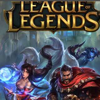 League of legends character and skins